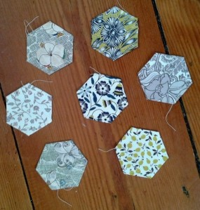 Grey Liberty Hexies
