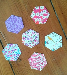 Pink Liberty Hexies